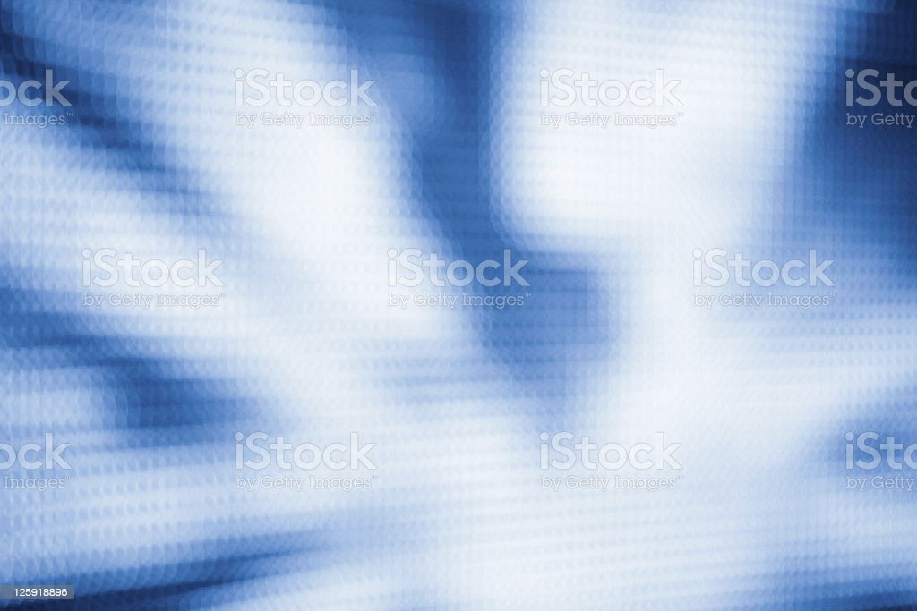 Blue LED lights. royalty-free stock photo