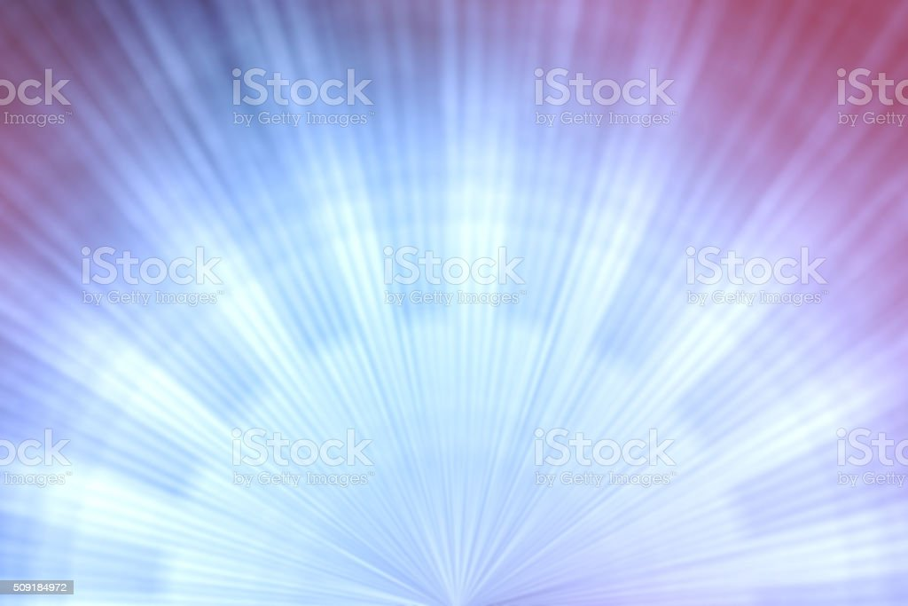 Blue Light Beam Abstract Background stock photo