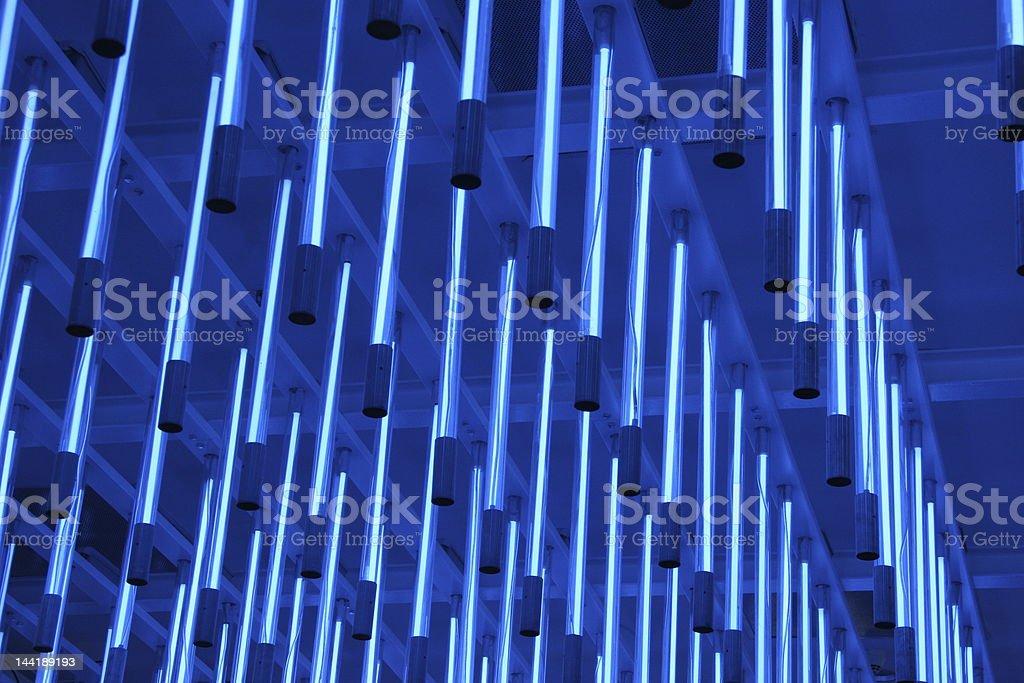 Blue Light stock photo