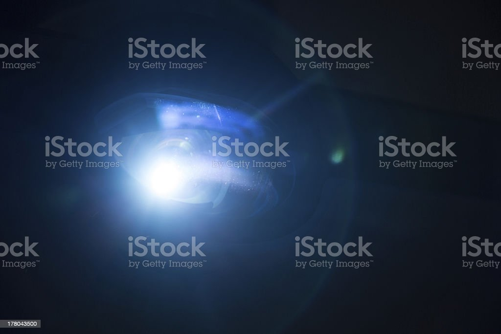 blue light stock photo