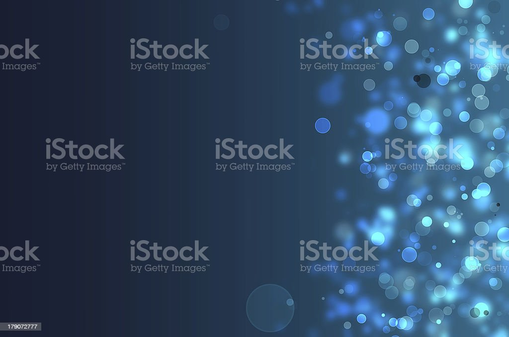Blue lights background royalty-free stock photo