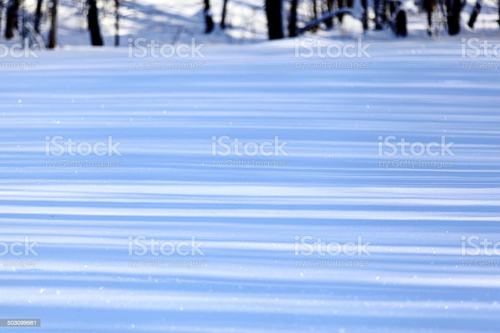 Blue line of shadow stock photo