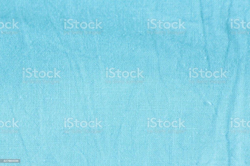 Blue linen stock photo
