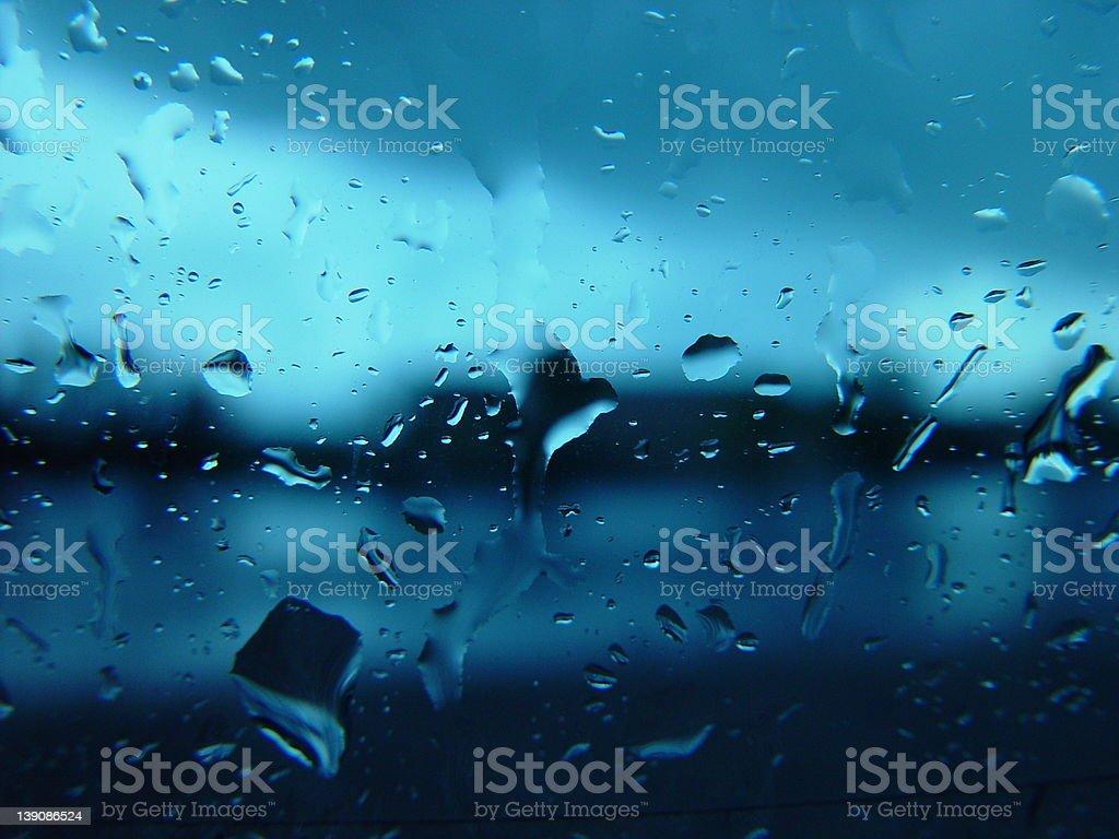 Blue Liquid stock photo