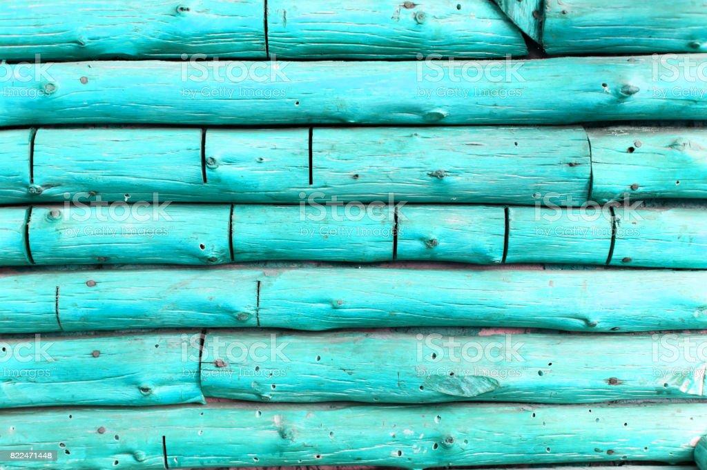 Blue log background stock photo