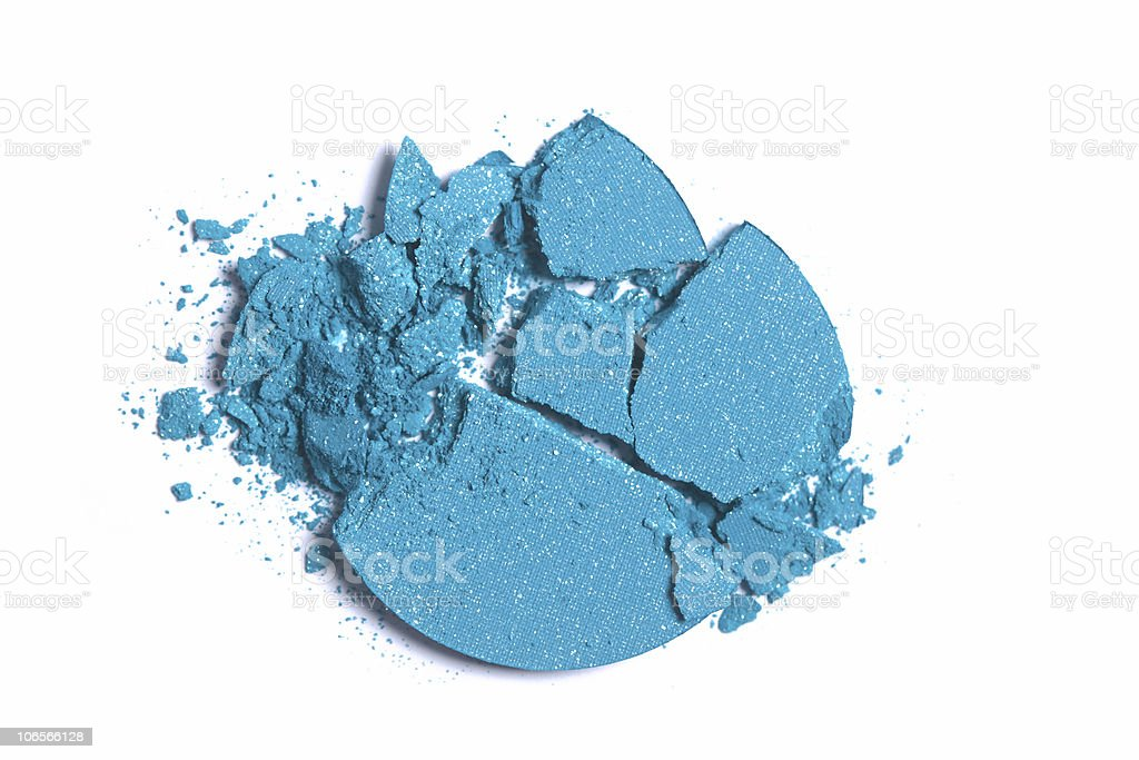 Blue Makeup royalty-free stock photo