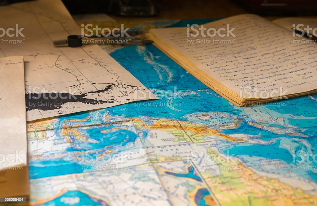 Blue Map Globe Pattern Background stock photo