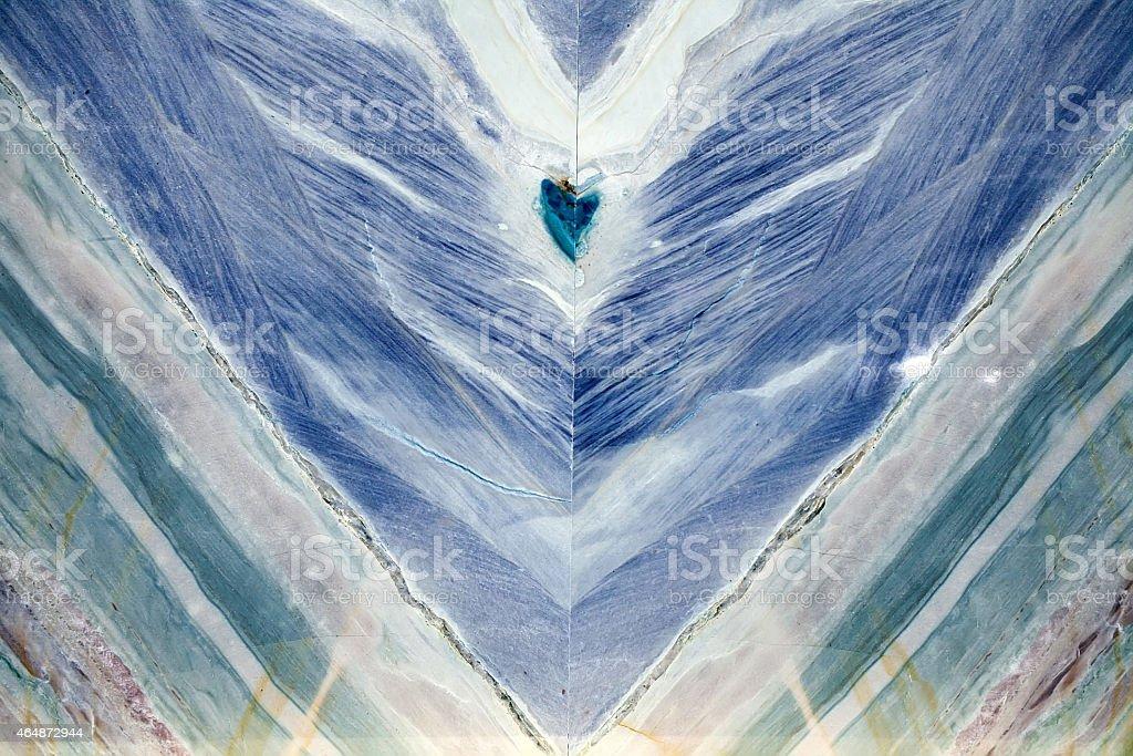 Blue marble onyx stock photo