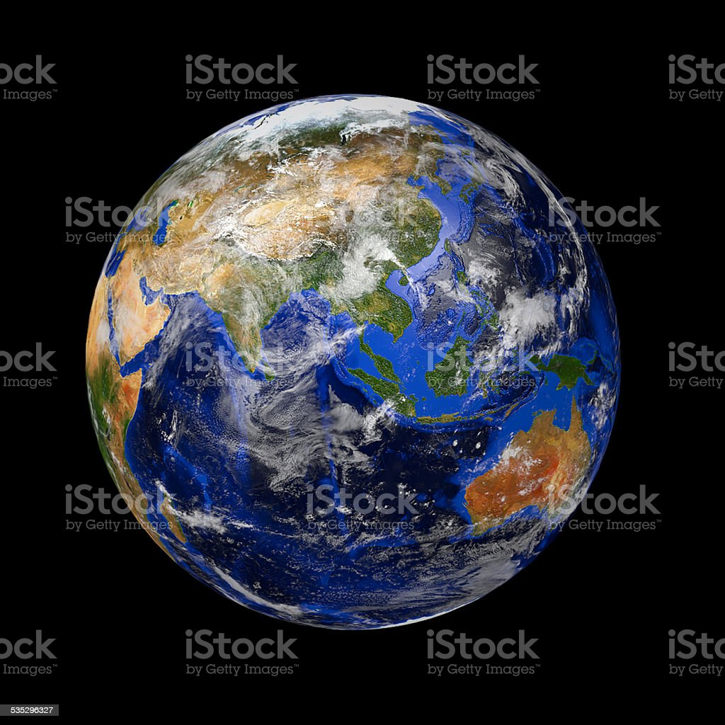 blue marble planet earth stock photo