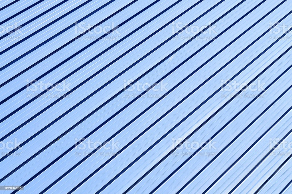 Blue metal background royalty-free stock photo