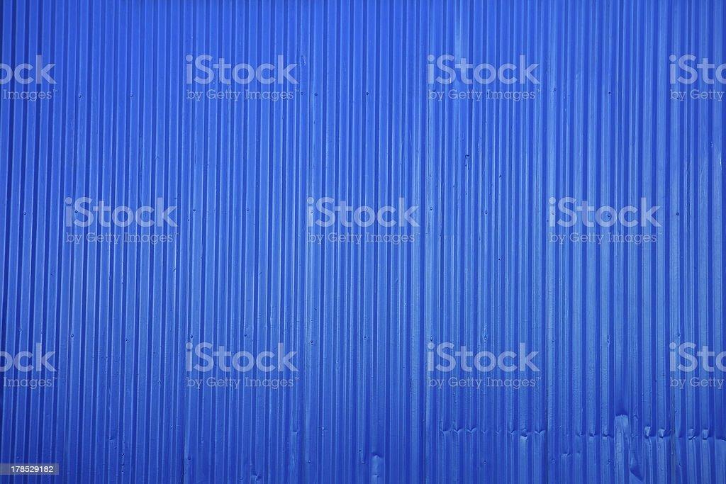 Blue Metal Texture royalty-free stock photo