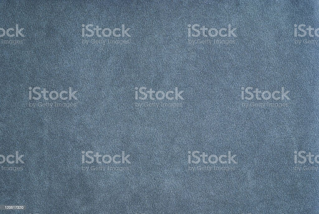 Blue mock suede fabric stock photo
