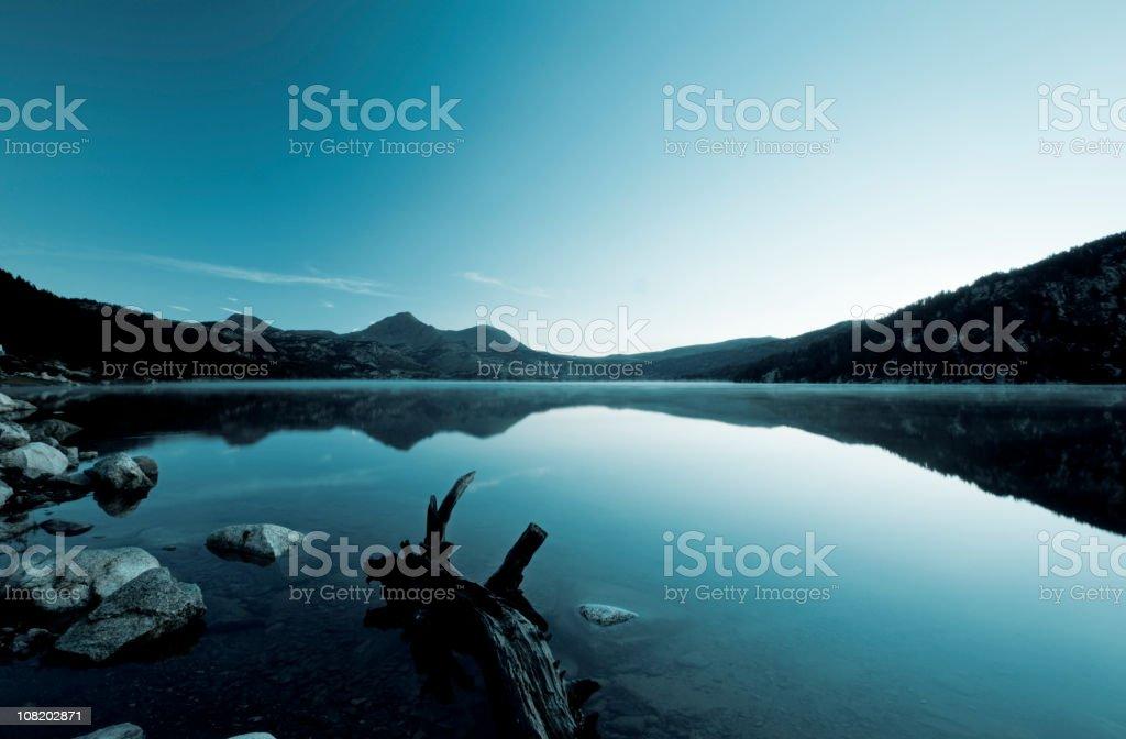 Blue mood royalty-free stock photo