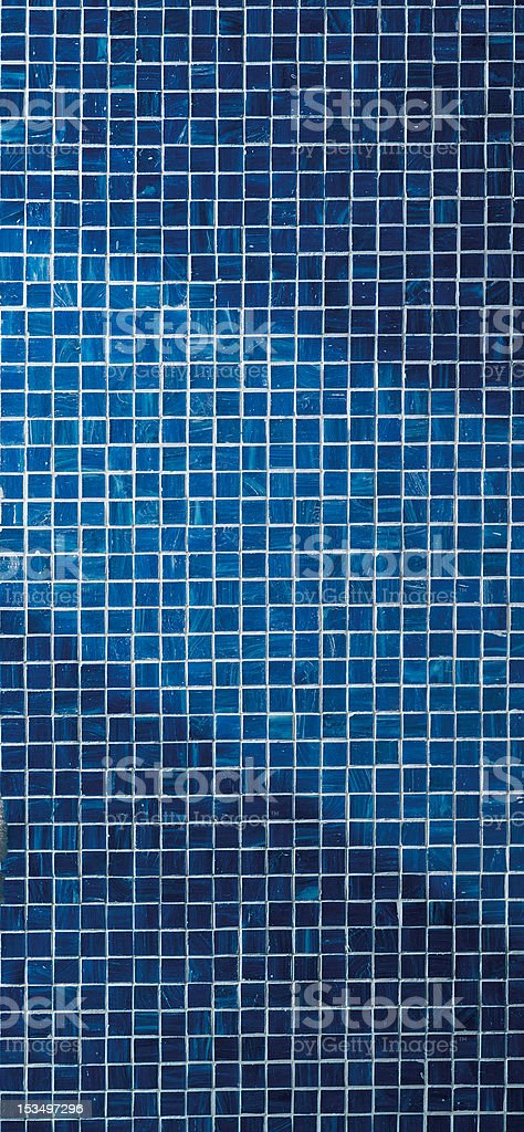 Blue Mosaic Tiles royalty-free stock photo