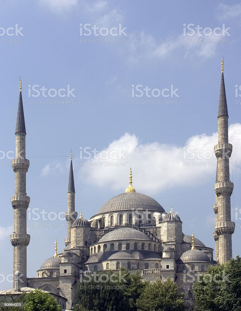 Blue mosque 13 royalty-free stock photo