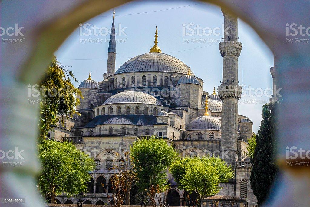 Blue Mosque, Istambul, Turkey royalty-free stock photo