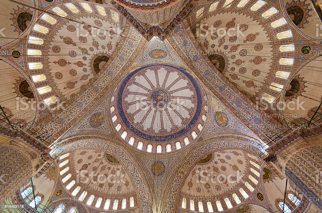 Blue Mosque Istanbul. stock photo