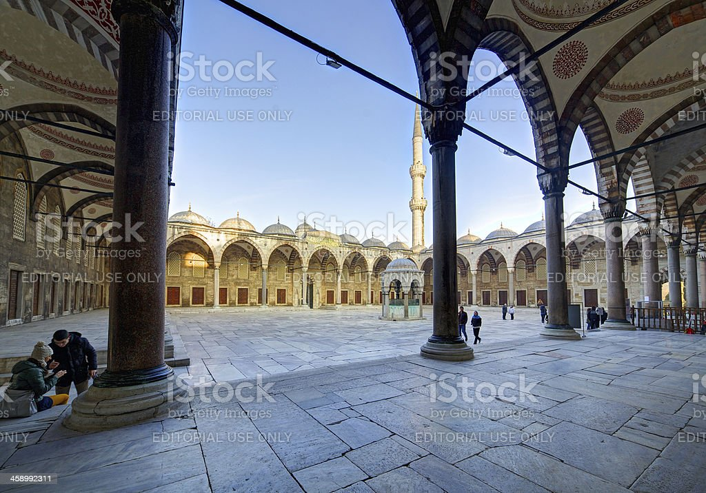Blue Mosque. Istanbul. Turkey. royalty-free stock photo