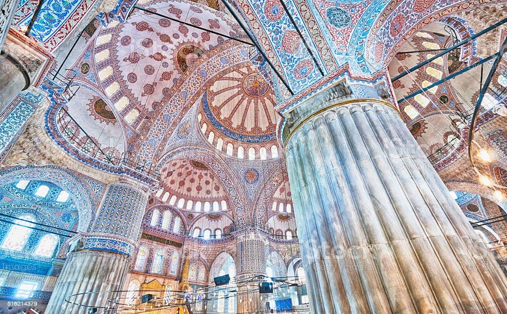 Blue Mosque, Istanbul, Turkey stock photo