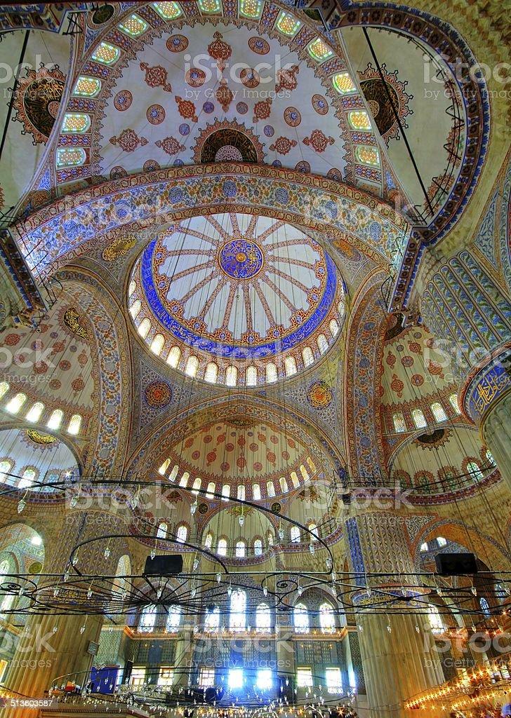 Blue Mosque (Sultanahmet Cami) stock photo