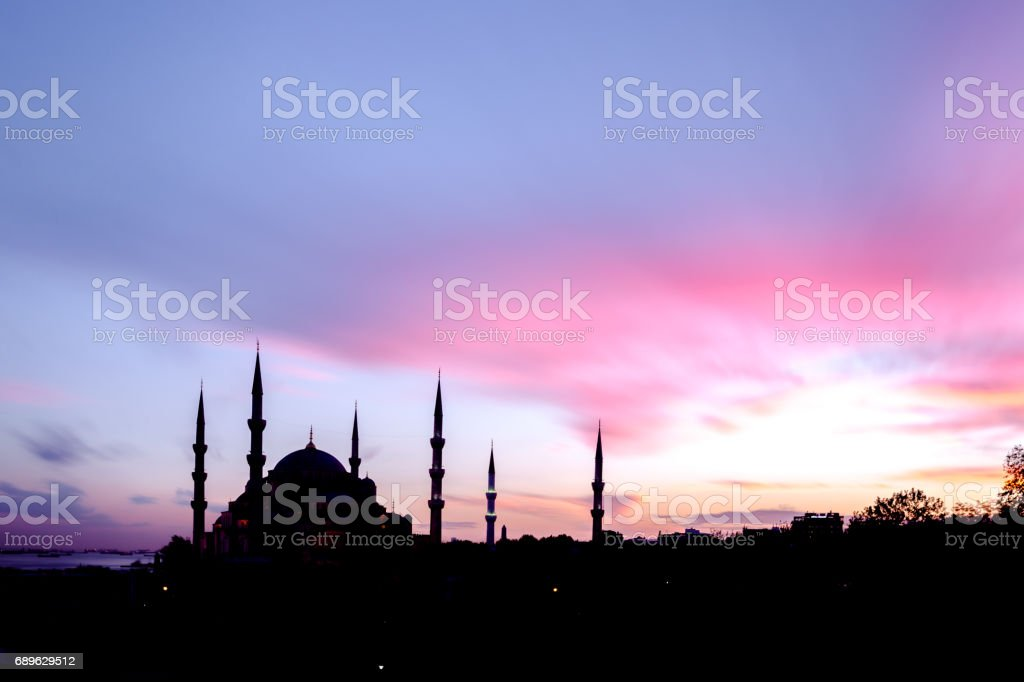 Blue Mosque, İstanbul stock photo