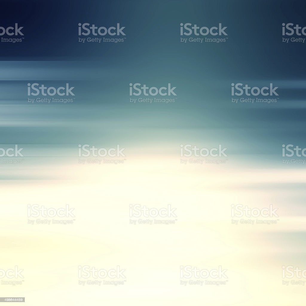 Blue motion blur abstract background stock photo
