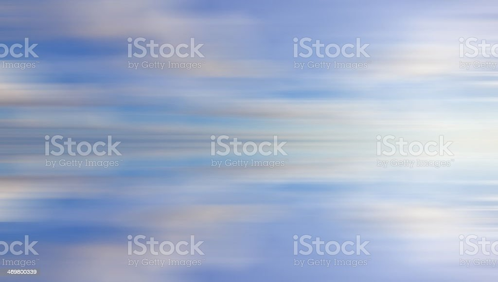 Blue motion blur abstract for background royalty-free stock photo