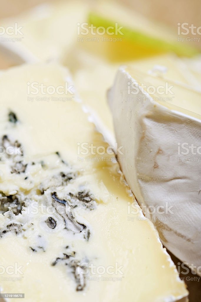 blue mould cheese stock photo