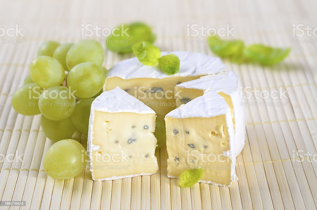 Blue mould cheese royalty-free stock photo