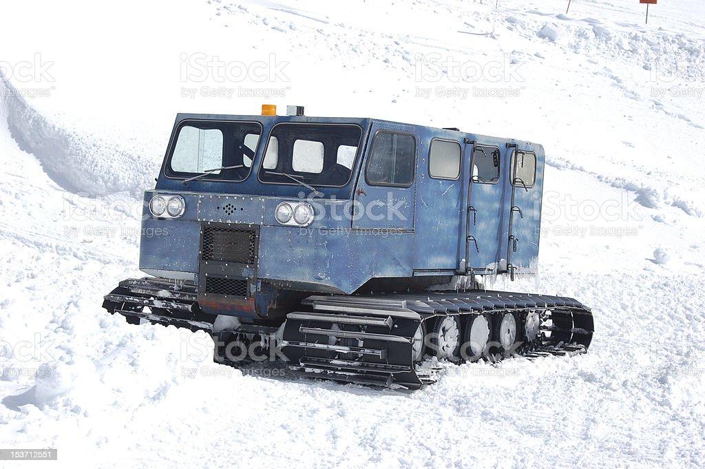 Blue Mountain Snowcat zbiór zdjęć royalty-free