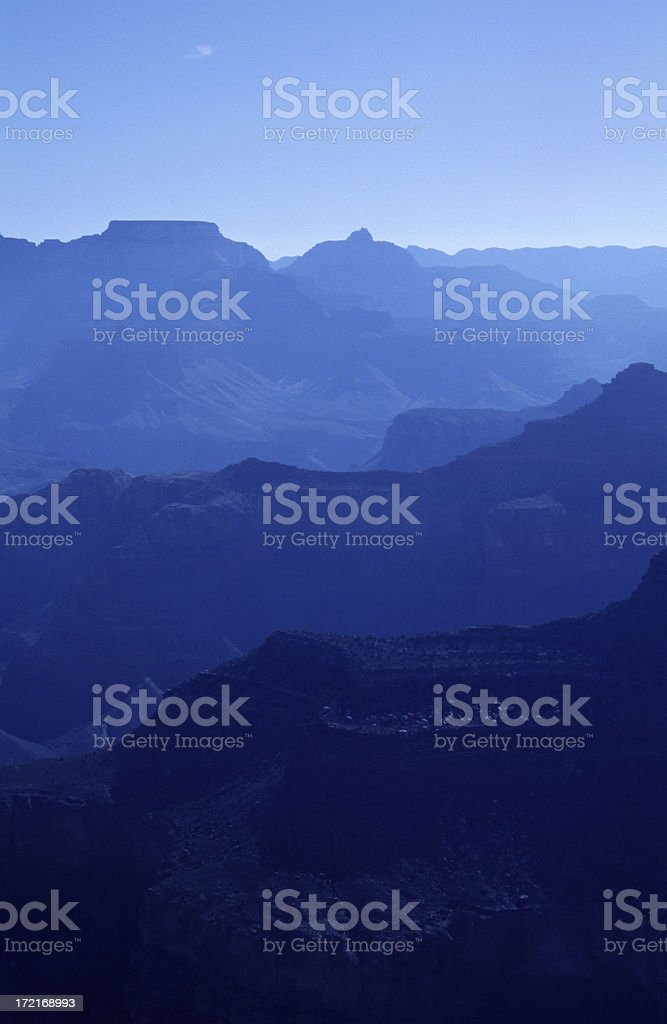 Blue Mountains 2 royalty-free stock photo