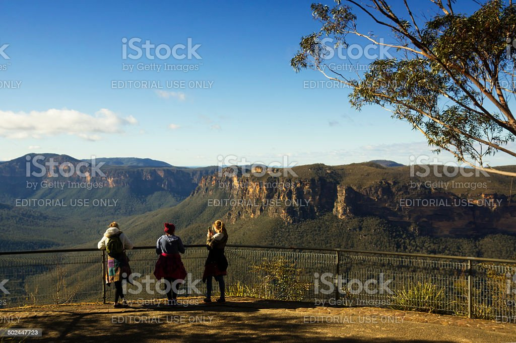 Blue Mountains - Evans Lookout stock photo