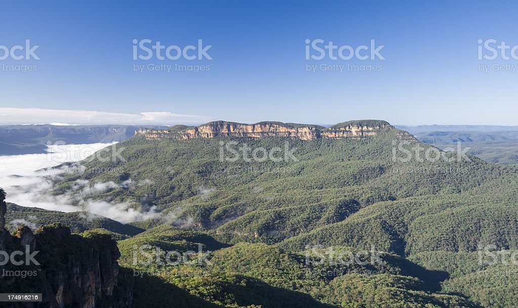 Blue Mountains National Park stock photo