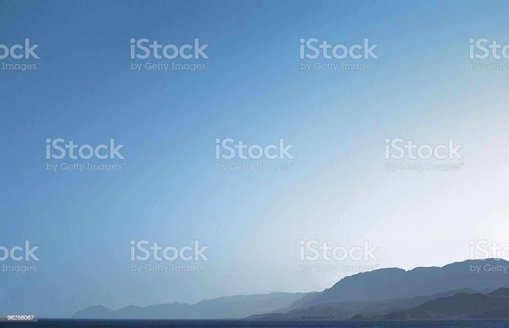blue mountains royalty-free stock photo