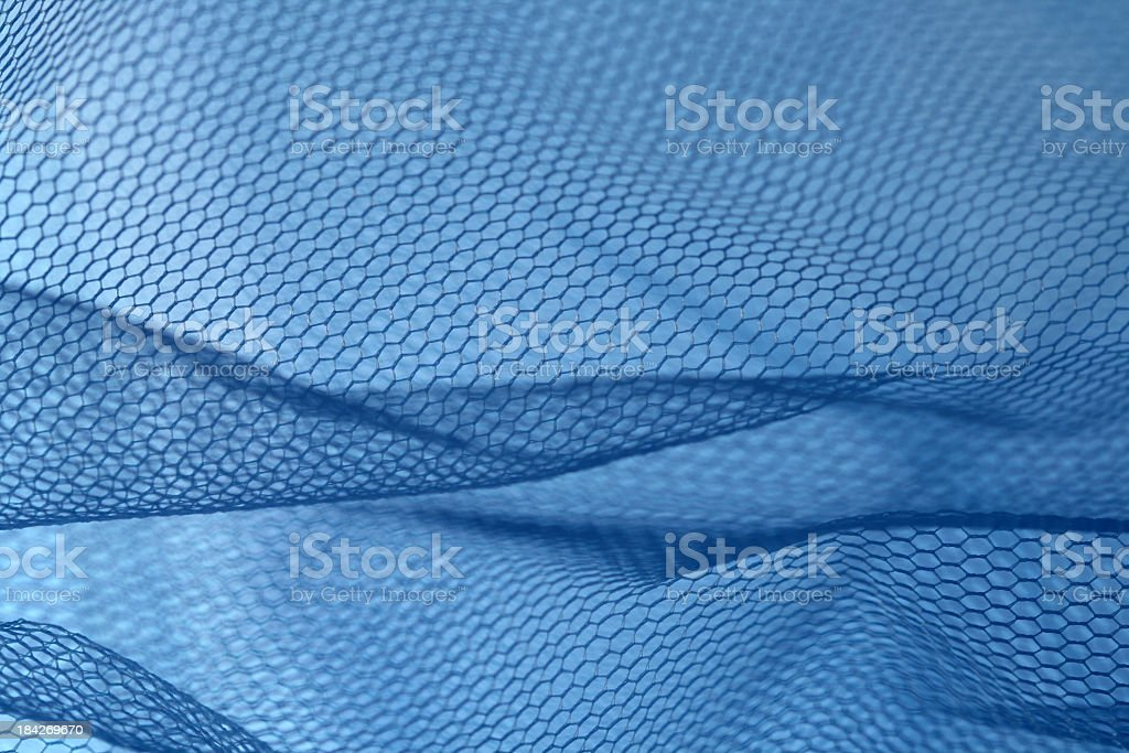 blue net royalty-free stock photo