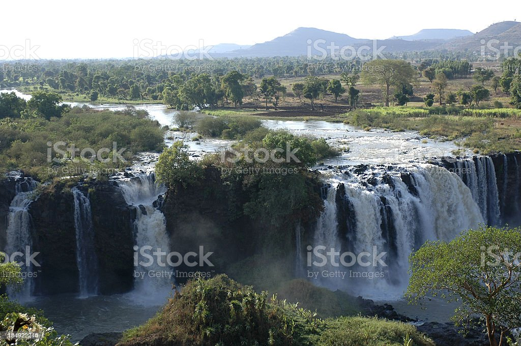 Blue Nile falls, Ethiopia royalty-free stock photo