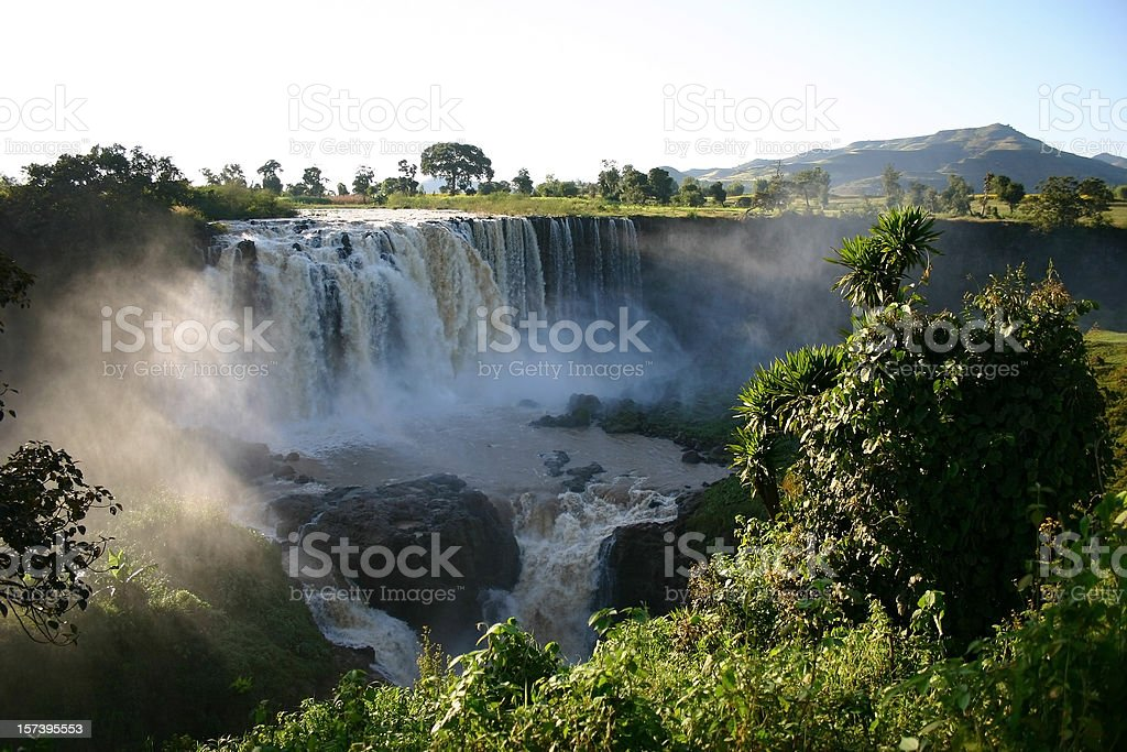 Blue Nile Fals royalty-free stock photo