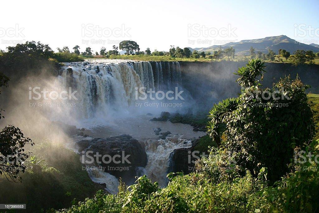 Blue Nile Fals stock photo