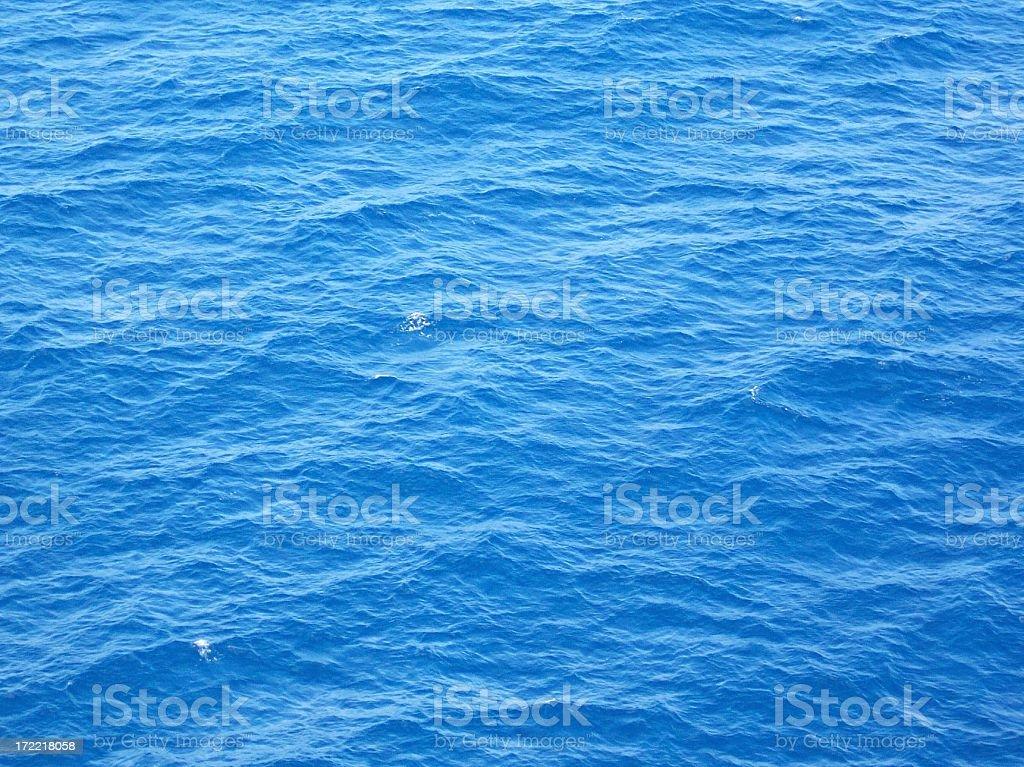Blue Ocean Background stock photo