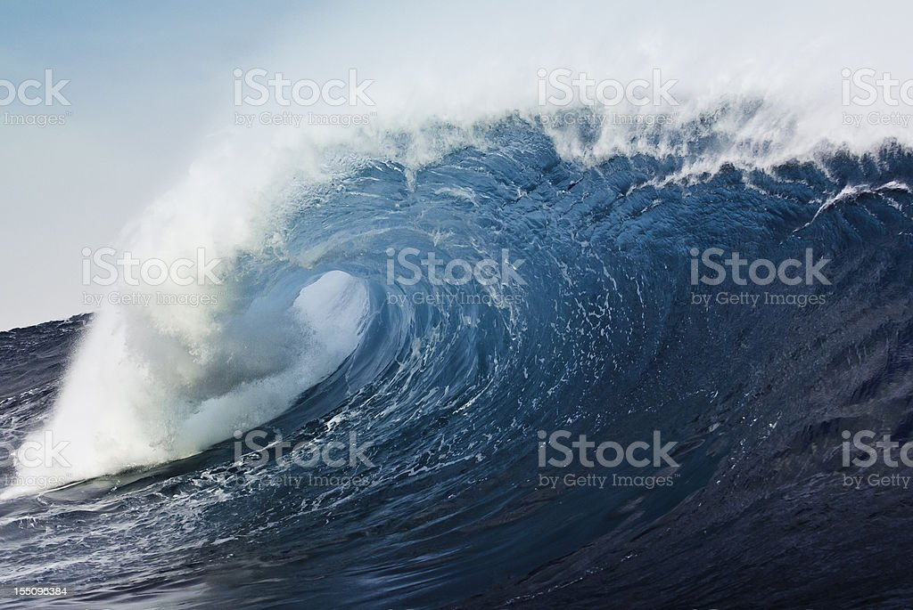 Blue Ocean Monster stock photo