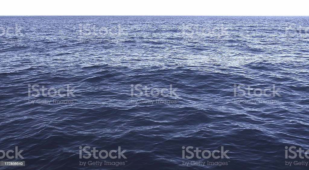 Blue Ocean royalty-free stock photo