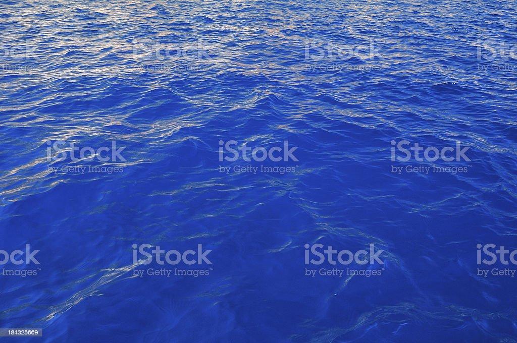 Blue Ocean Seascape royalty-free stock photo