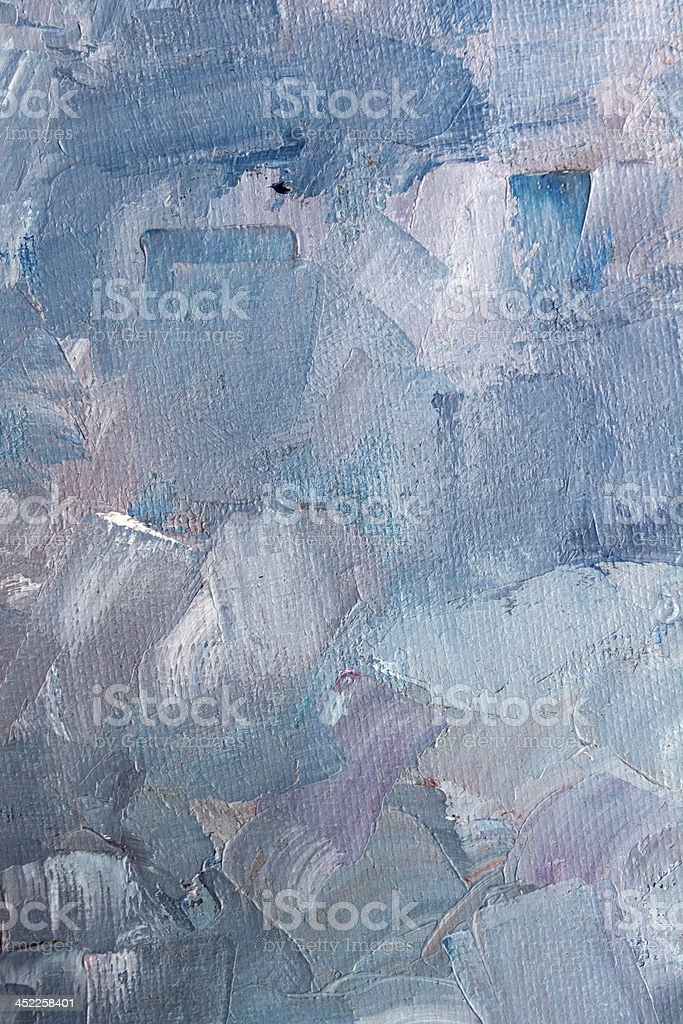 Blue oil texture stock photo