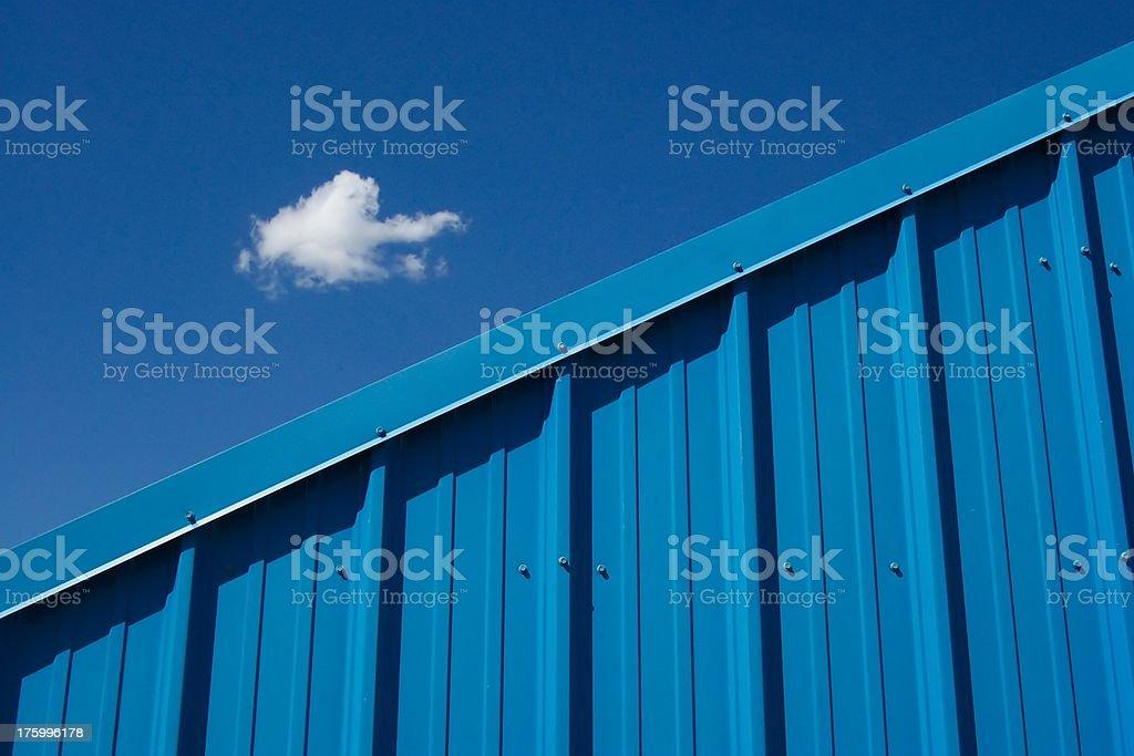 Blue On Blu royalty-free stock photo