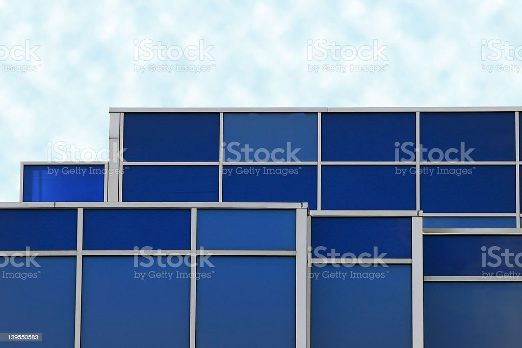 Blue on Blue royalty-free stock photo