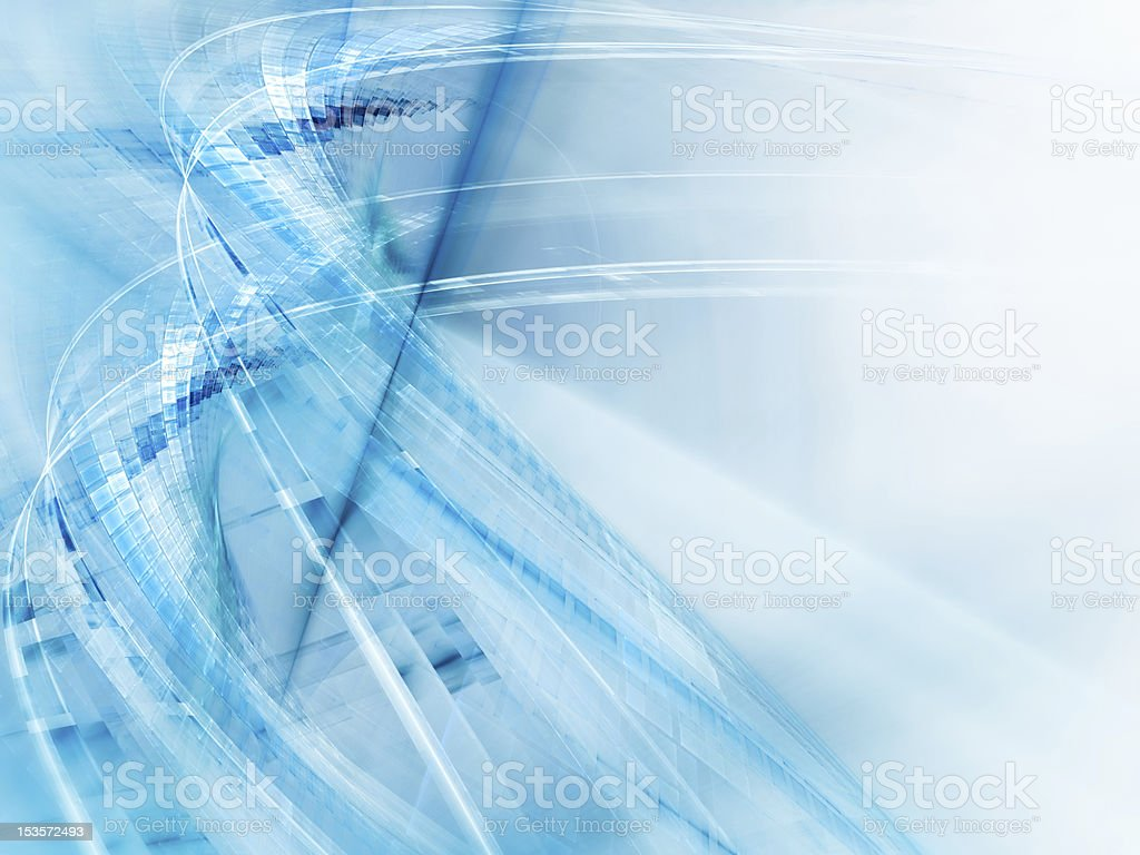 Blue on white abstract background element royalty-free stock photo