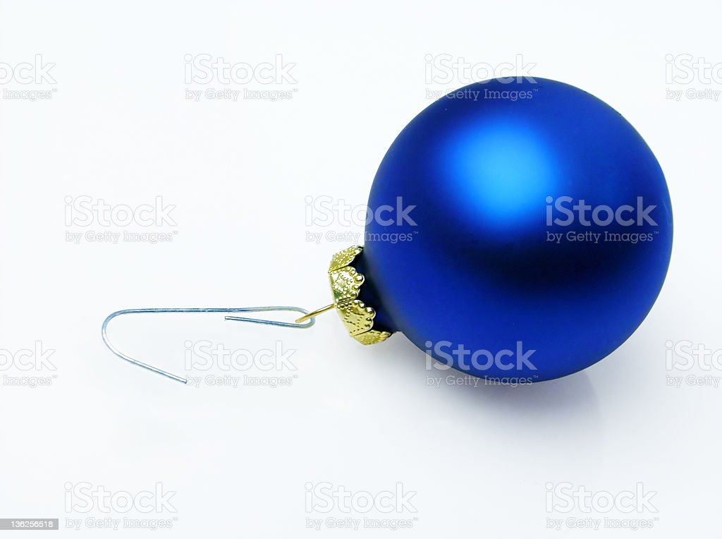 blue ornament royalty-free stock photo