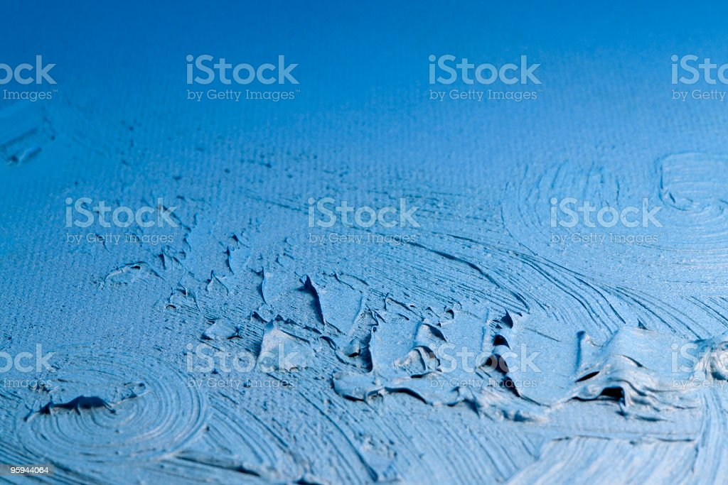 blue painted back royalty-free stock photo
