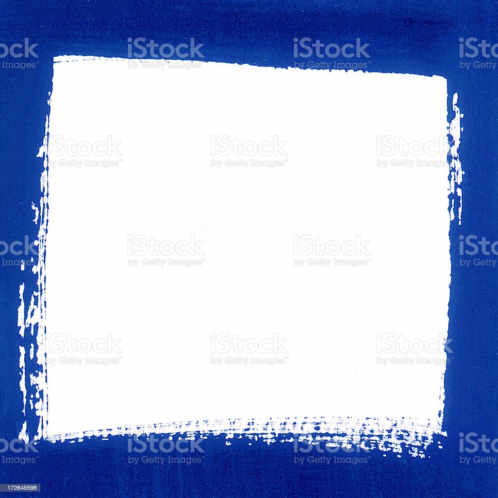 blue painted edge royalty-free stock photo