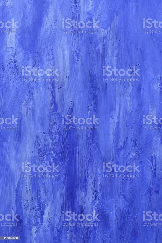 Blue Painted Wall royalty-free stock photo